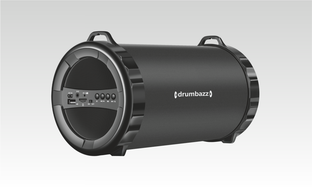 Drumbazz - 2.1 Outdoor Portable Speaker